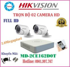 Camera Hikvision MD-2CE16D0T