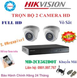 Camera Hikvision MD-2CE562C0T